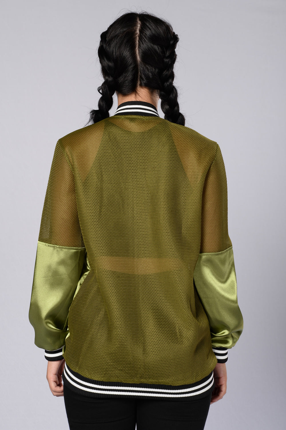 Big Poppa Bomber Jacket - Olive