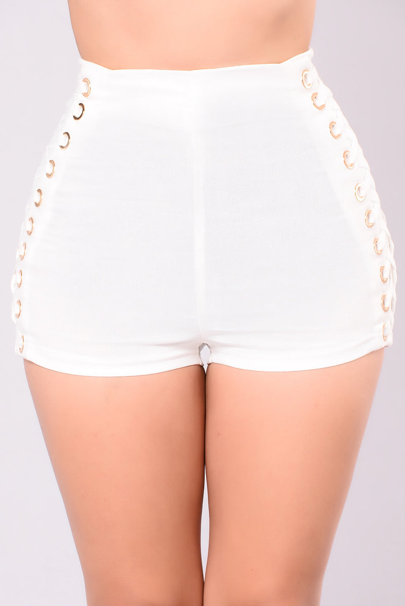 Eye My Shorts - White