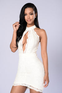 One Night Dress - White/White