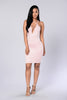 Strap Me Up Dress - Dark Pink