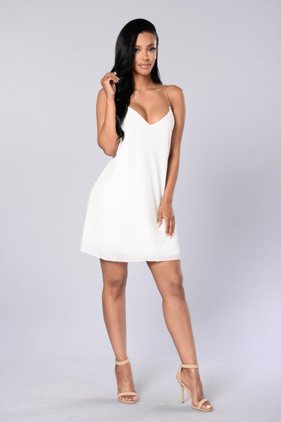 Chain Reaction Dress - Ivory