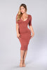 Style and Grace Dress - Salmon
