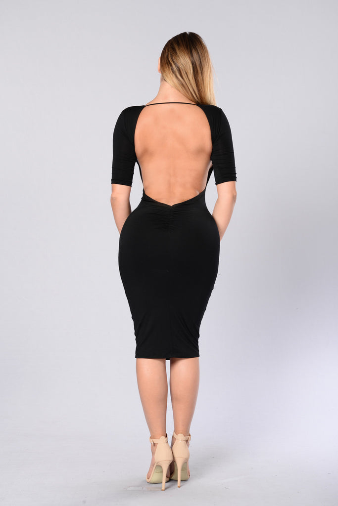 Style and Grace Dress - Black