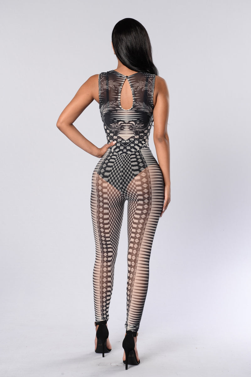 Baby Got Back Jumpsuit - Multi
