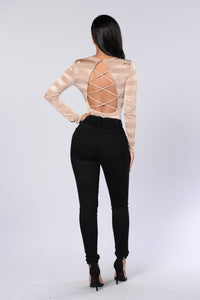 New Money Bodysuit - Gold