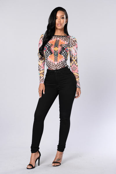 Top Notch Bodysuit - Multi