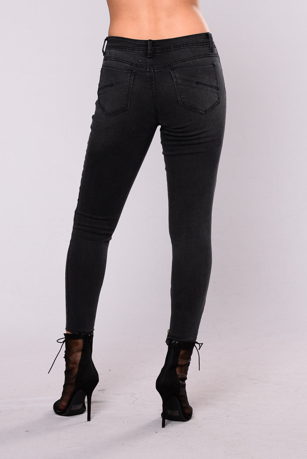 Lasting Treasure Jeans - Black