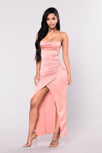 Classic Little Number Dress - Rose Gold