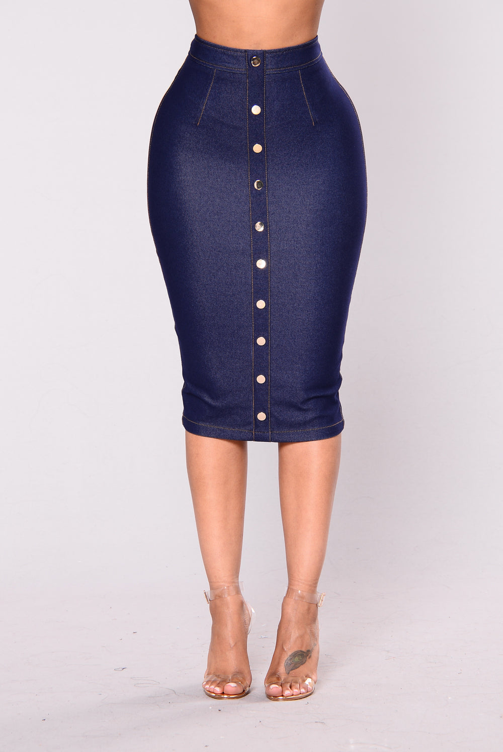 Jeanius Skirt - Indigo