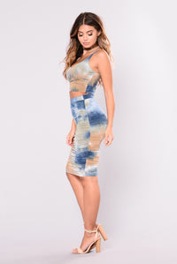 Savannah Tie Dye Set - Navy