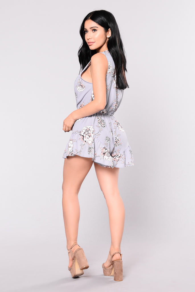 Knots For You Romper - Lavender