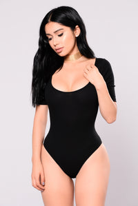 Not Like The Rest Bodysuit - Black Angle 1