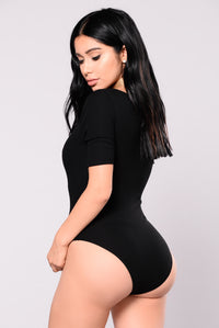 Not Like The Rest Bodysuit - Black Angle 2