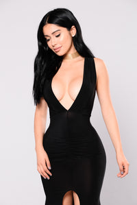 All Your Secrets Dress - Black