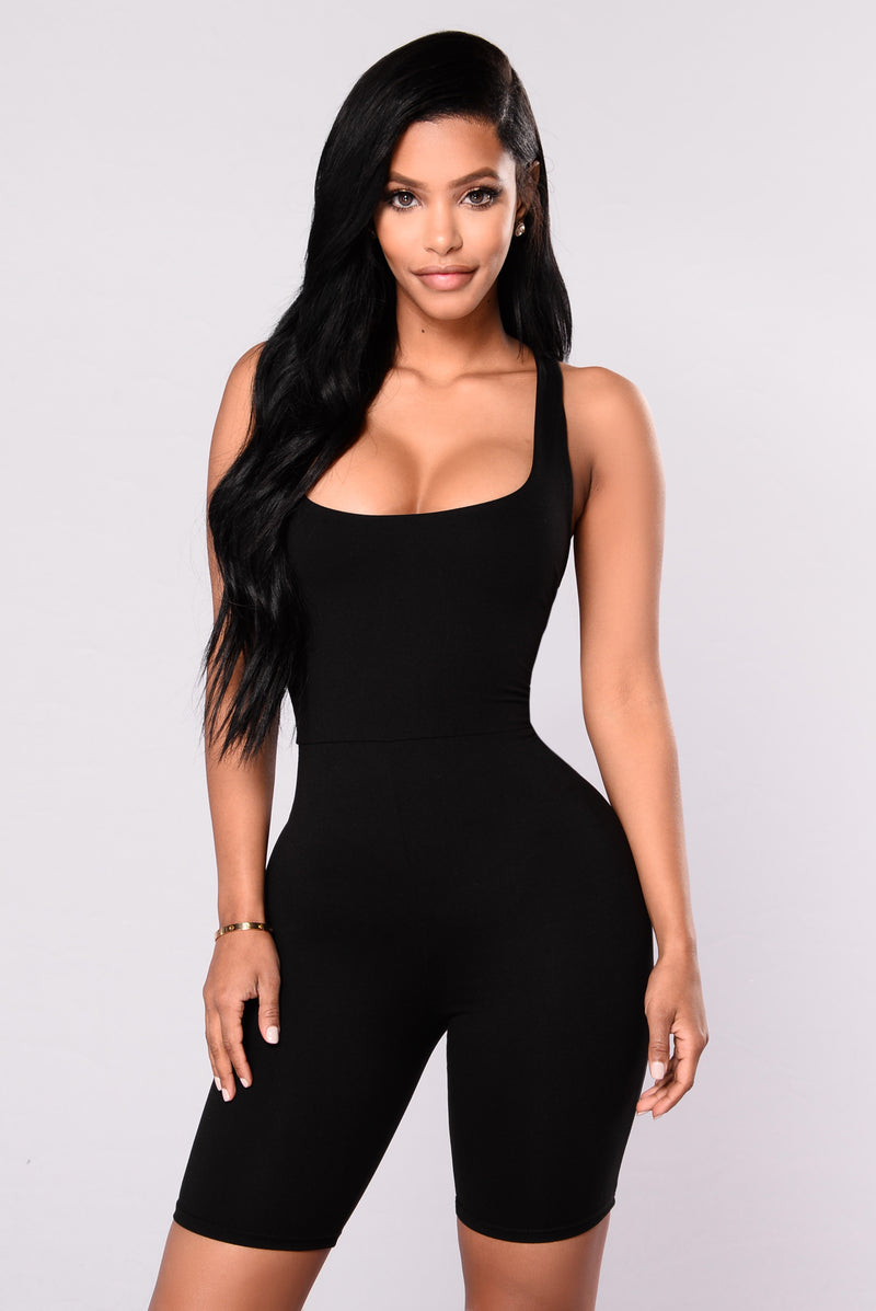 Remedy For Everything Romper - Black