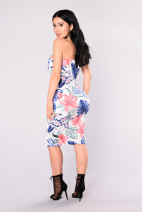 Treasure Island Dress - White