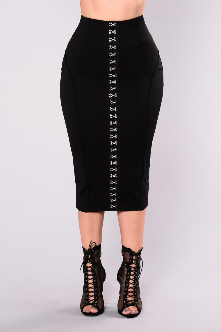 Ride For You Babe Skirt - Black