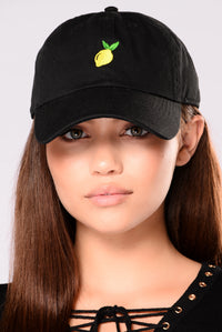 Lemon Cap - Black