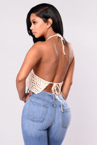 Festie Girl Crochet Top - Ivory