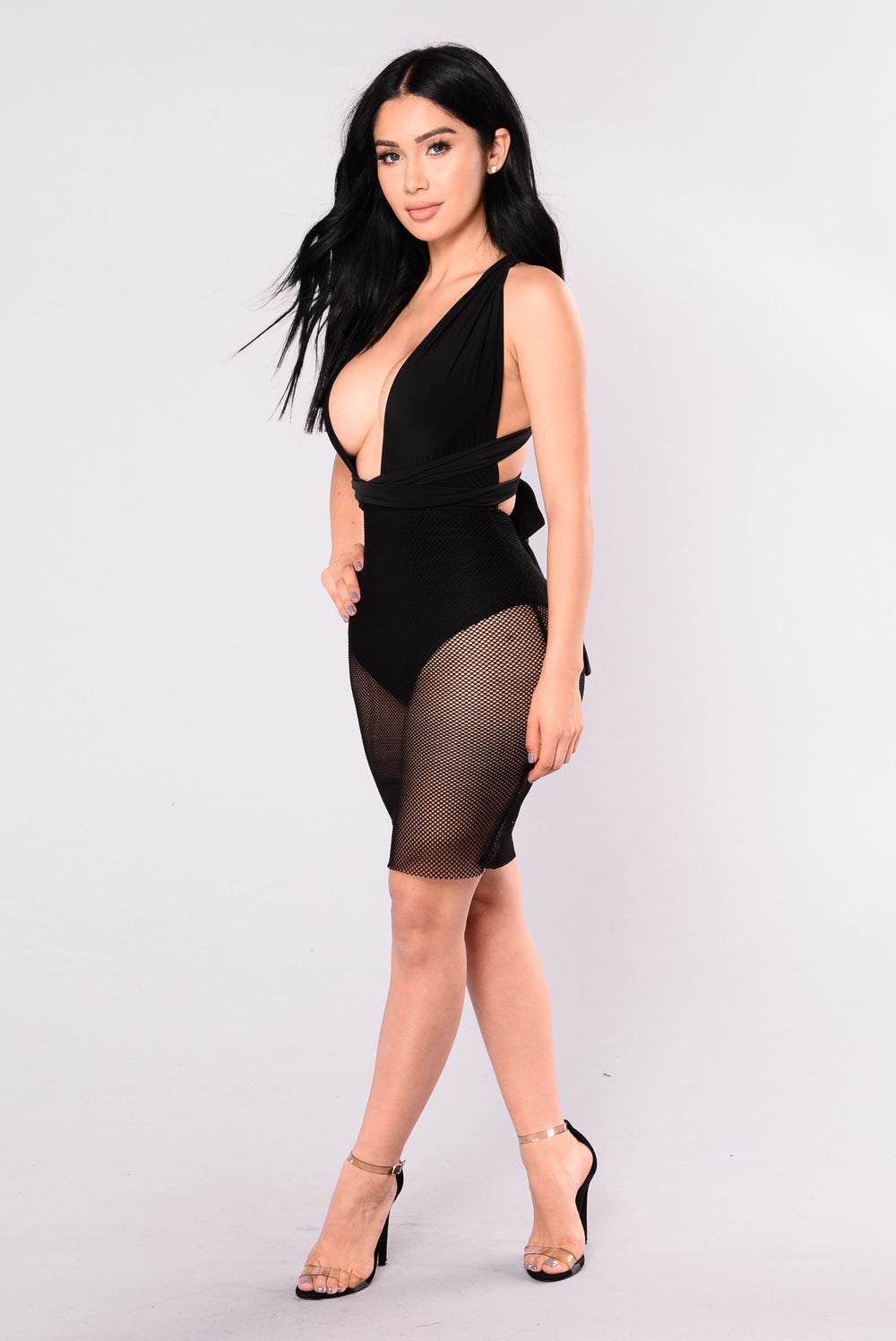 Dress My Bodysuit - Black