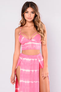 Camilla Crop Top - Pink