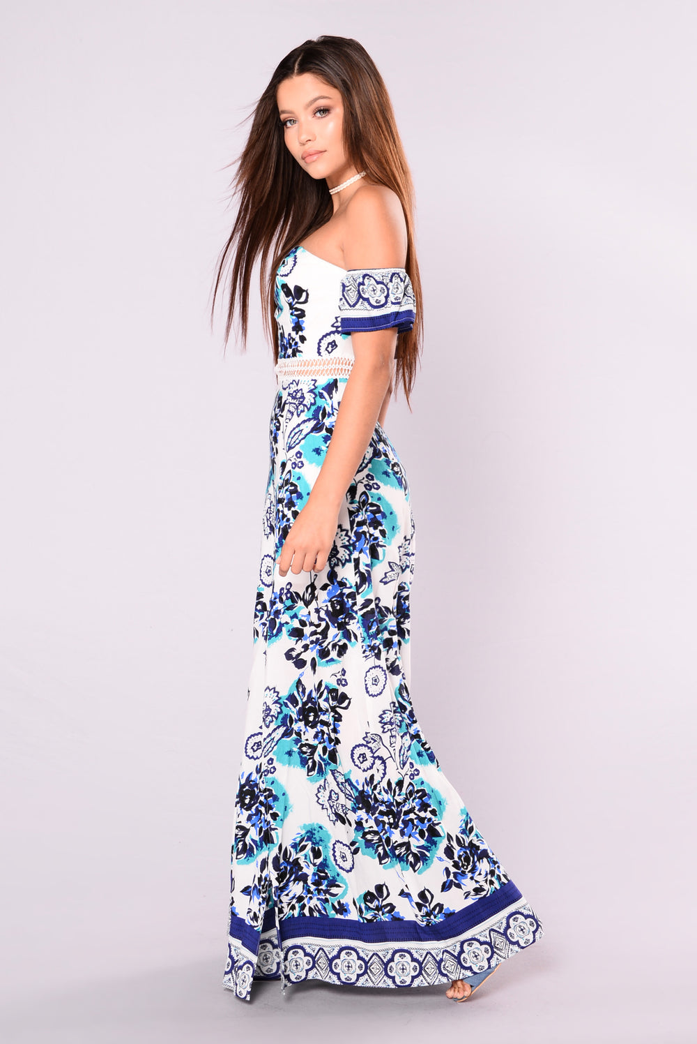 Naxos Dress - Jade Multi