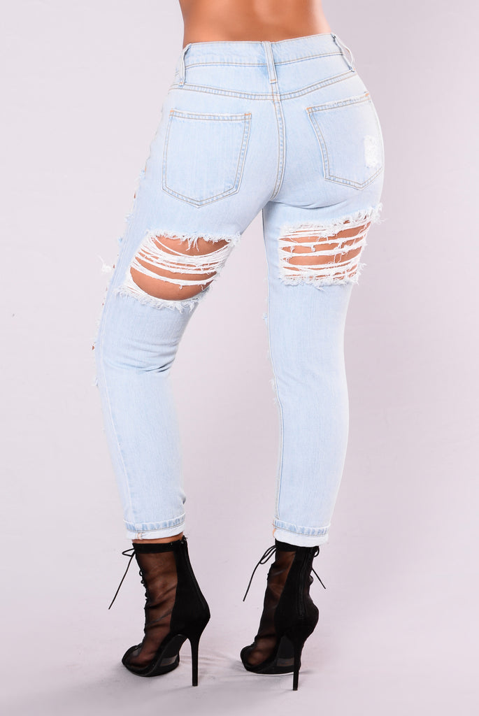 Party Animal Jean - Light Denim