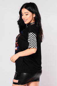Stance Nation Graphic Top - Black