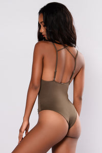 Feeling Knotty Swimsuit - Olive