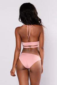 Wrap Her Two Piece - Mauve