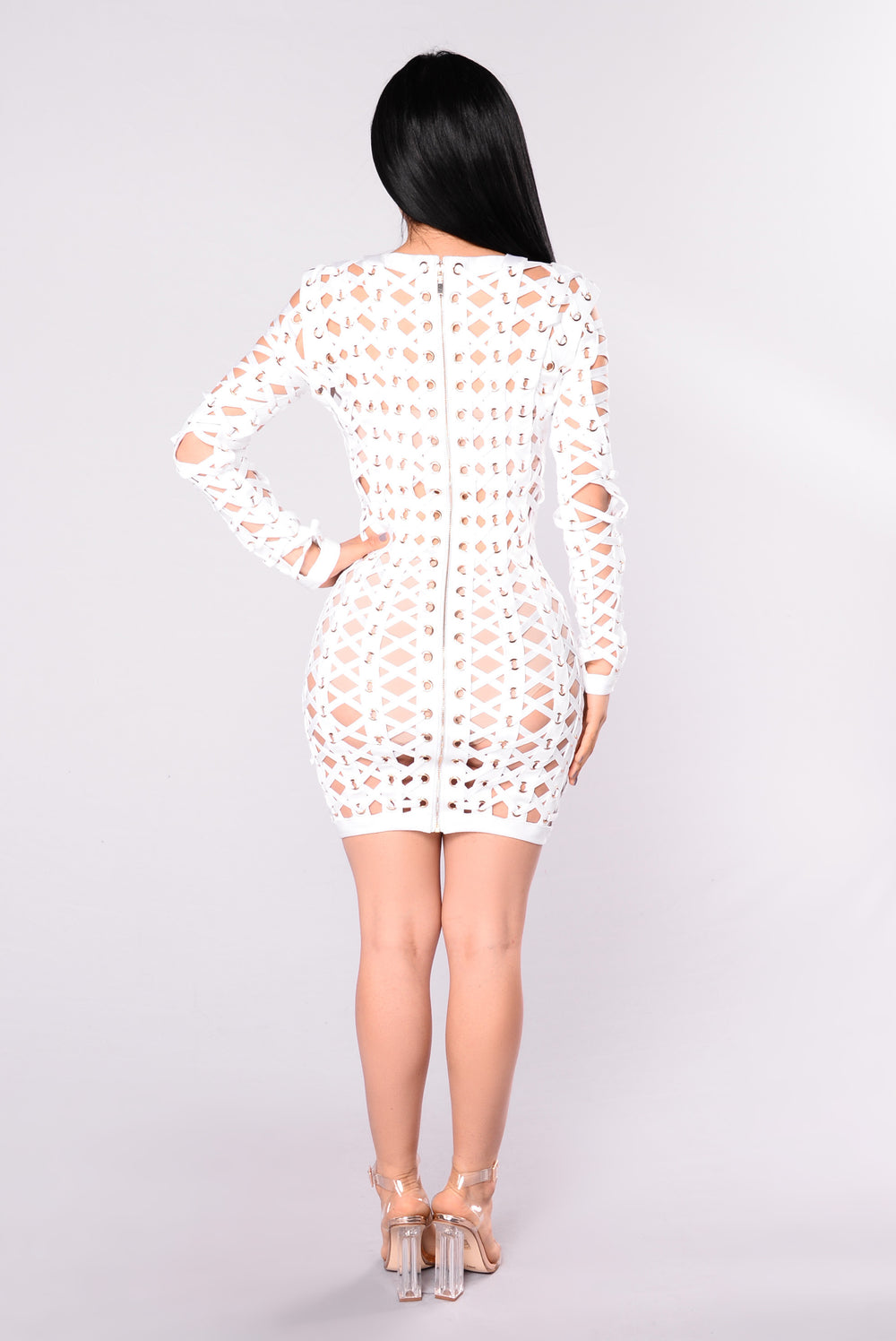VIP Bandage Dress - White