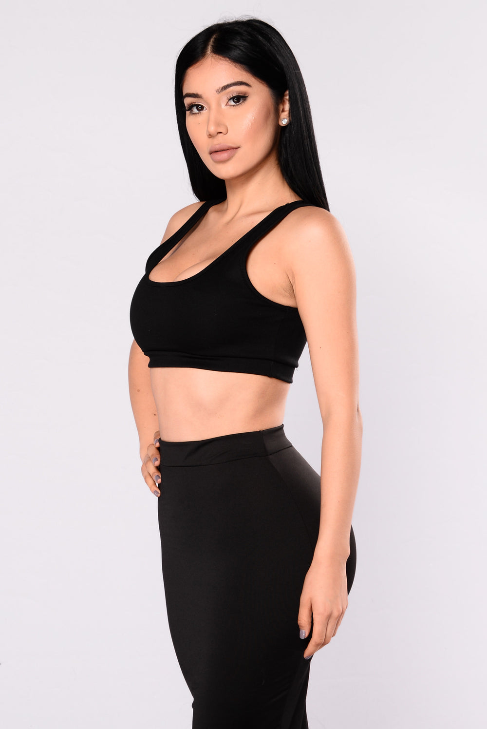 Vibrations Tank Top - Black
