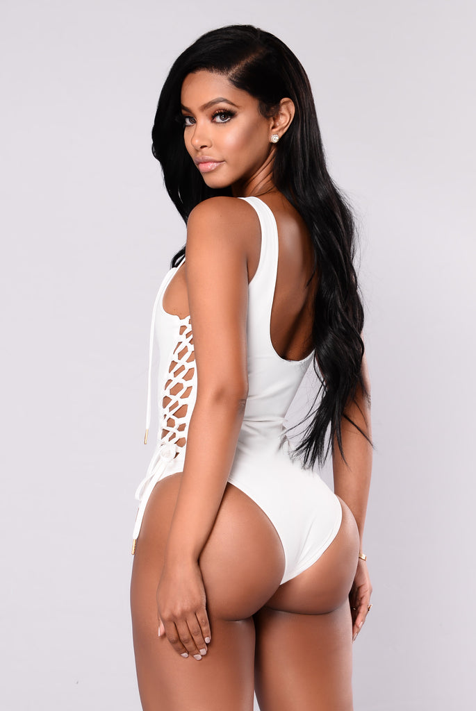 Wendy Swimsuit - White