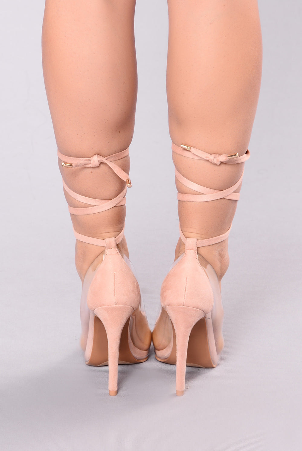 You Know Me Well Heel - Blush