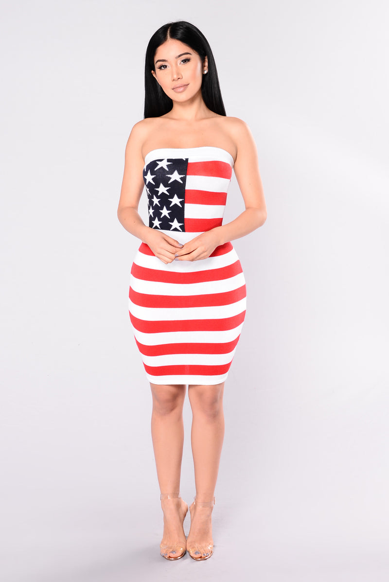 American Beauty Dress - Flag
