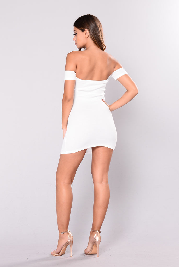 Ella Dress - White