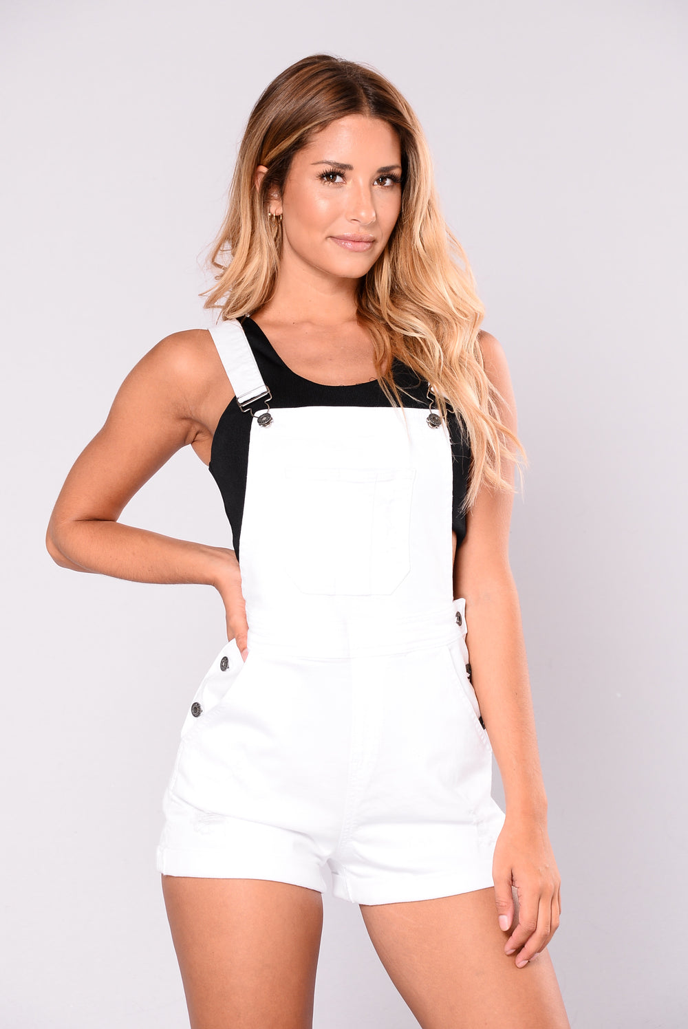 Farmers Daughter Shortall - White