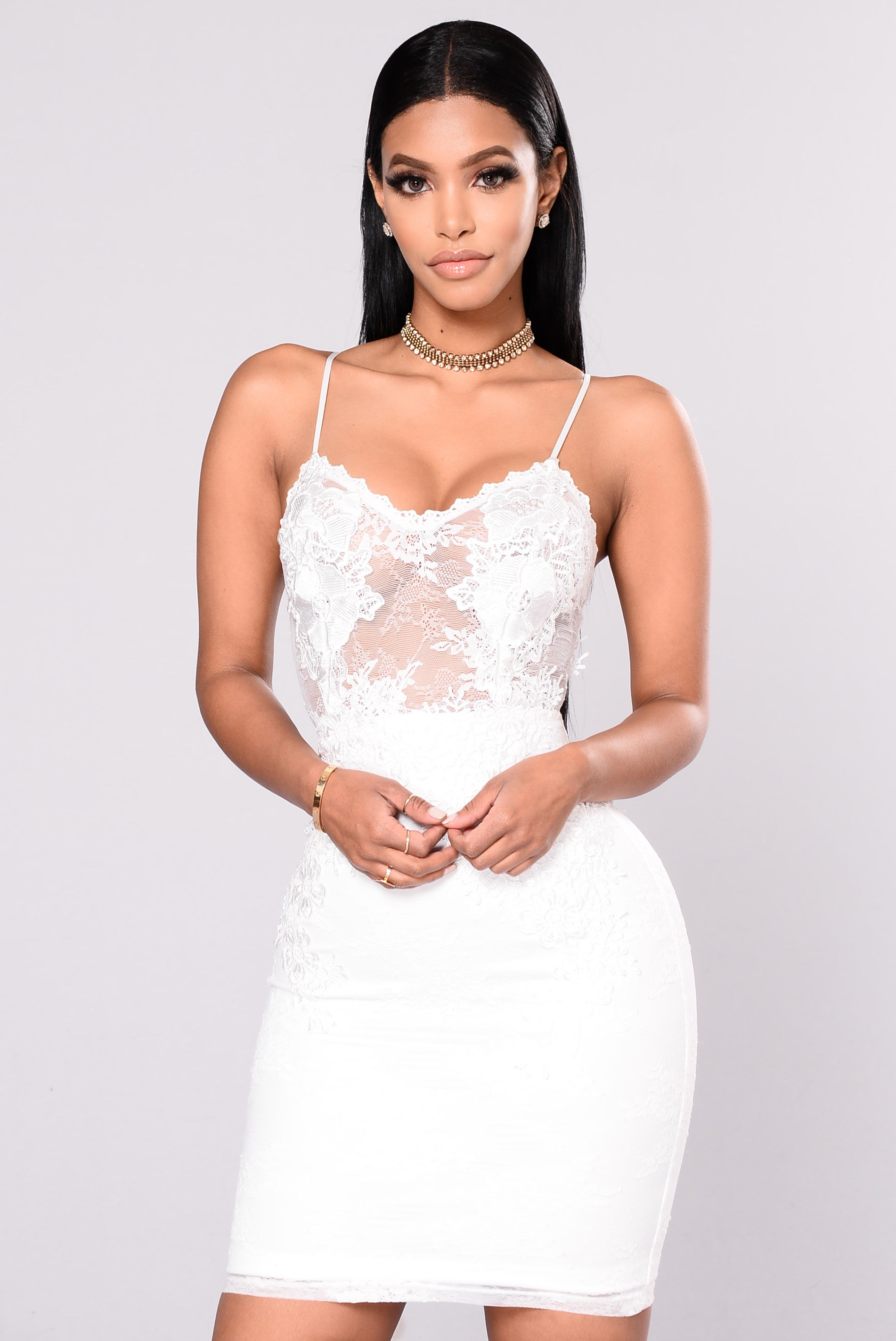 Shop our sexy Party Dresses to find style for your figure. Everyone knows that black or striped Party Dresses can be slimming while a sexy red or white dress can style your curves. If it is the perfect New Years Eve dress you desire or a stunning formal outfit then AMIClubwear has something for you.