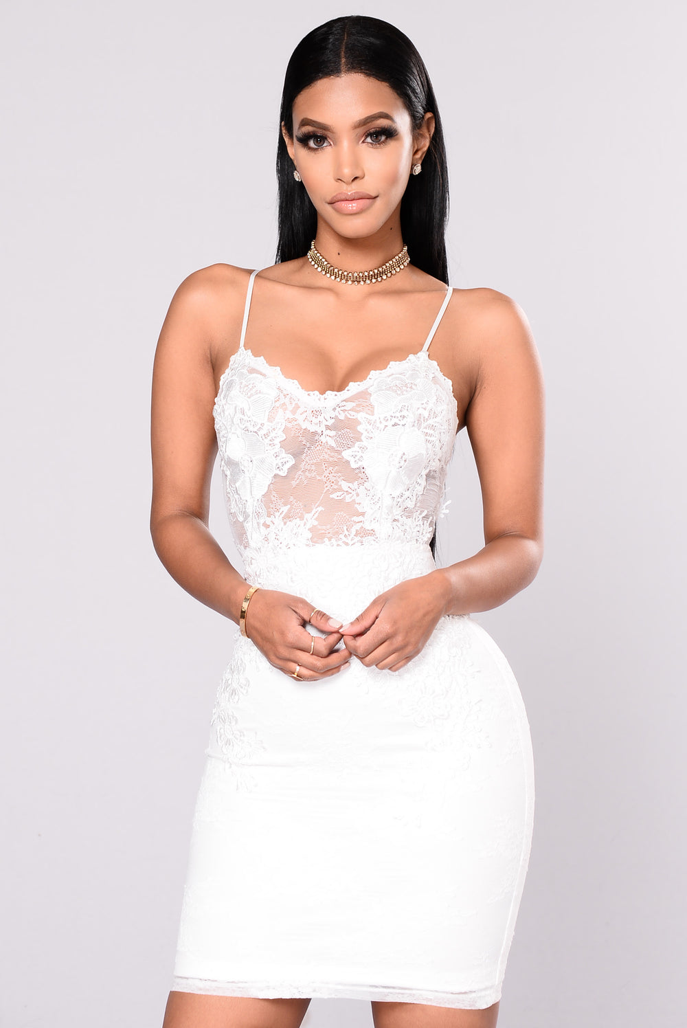 Bachelorette Party Dress - White