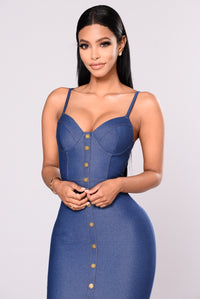 Ride Clean Dress - Indigo