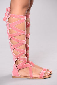 Velvet Touch Sandal - Blush