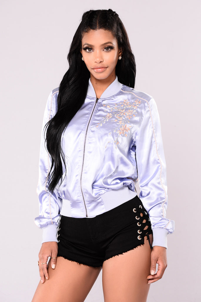 Touch Of Spring Jacket - Lilac