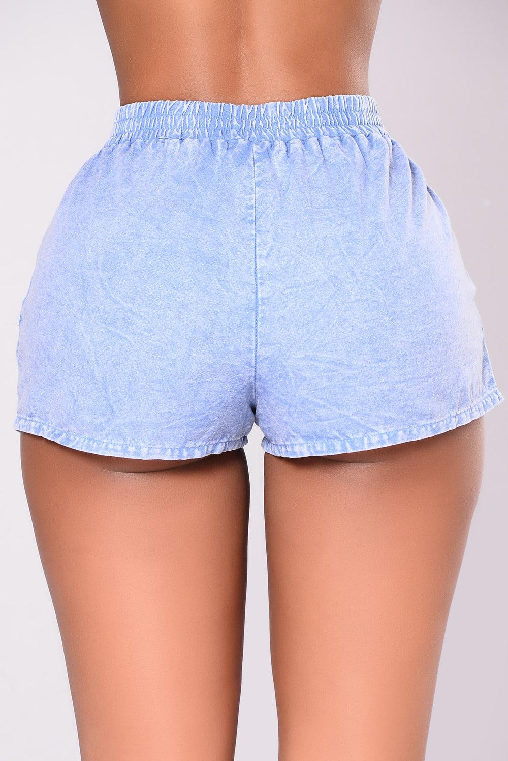 Down For Life Shorts - Blue