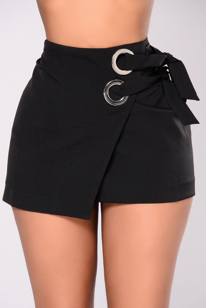 Call It What You Like Skirt - Black