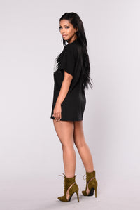 Roll With Me Tunic - Black
