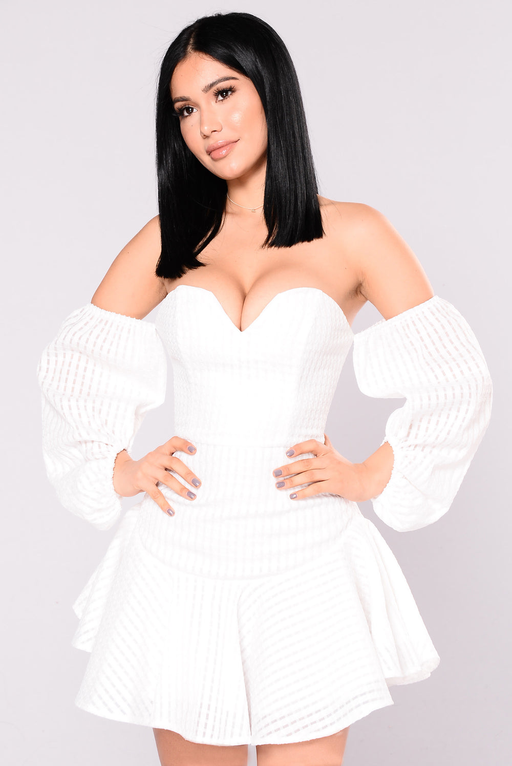 Goal Digger Dress - Off White