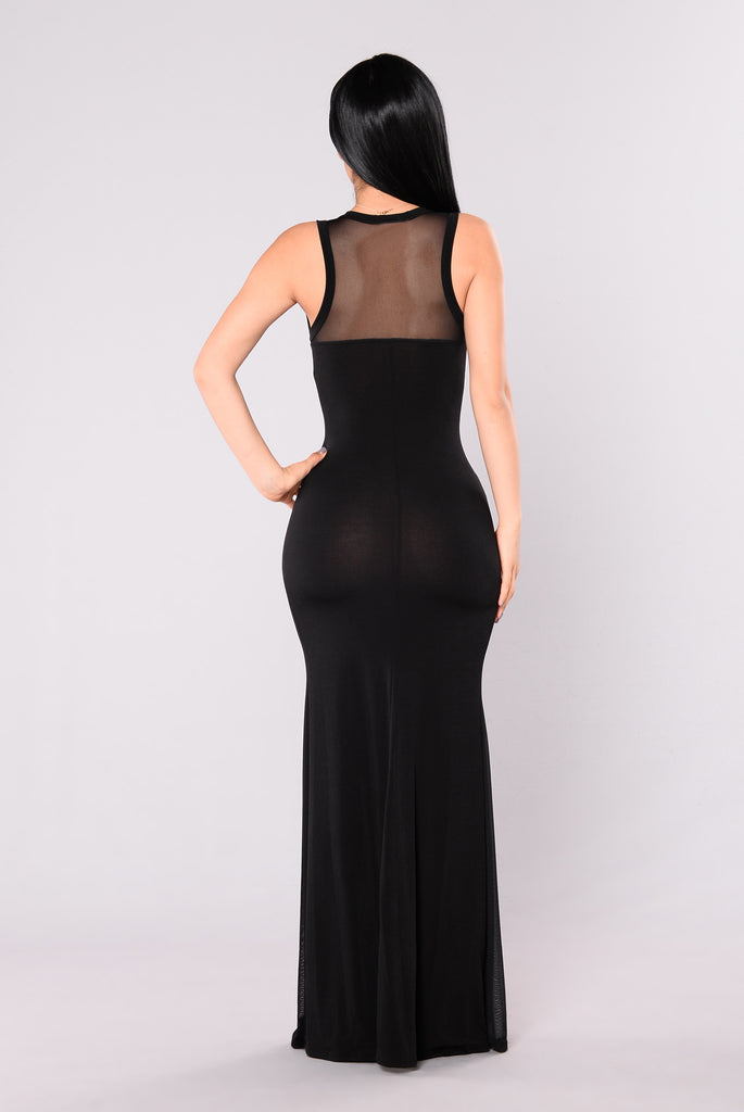 Counting Days Dress - Black