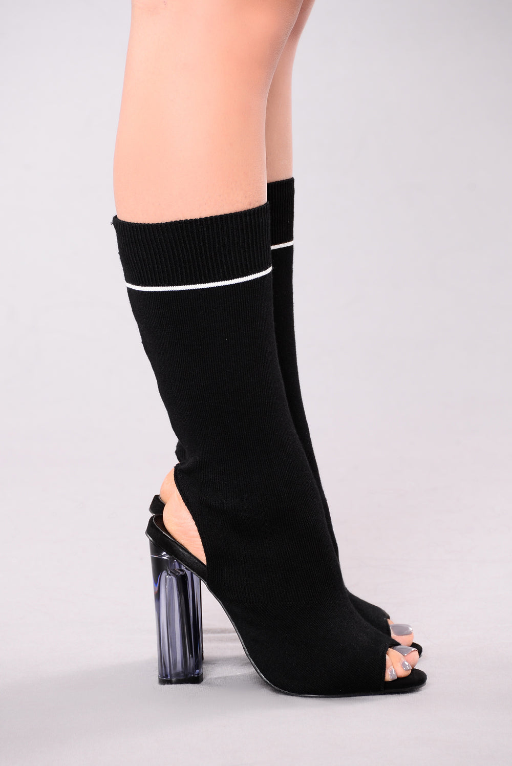 Go Further Heel - Black