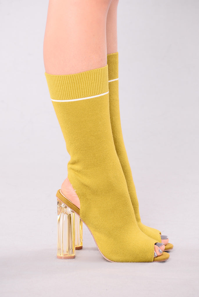 Go Further Heel - Olive