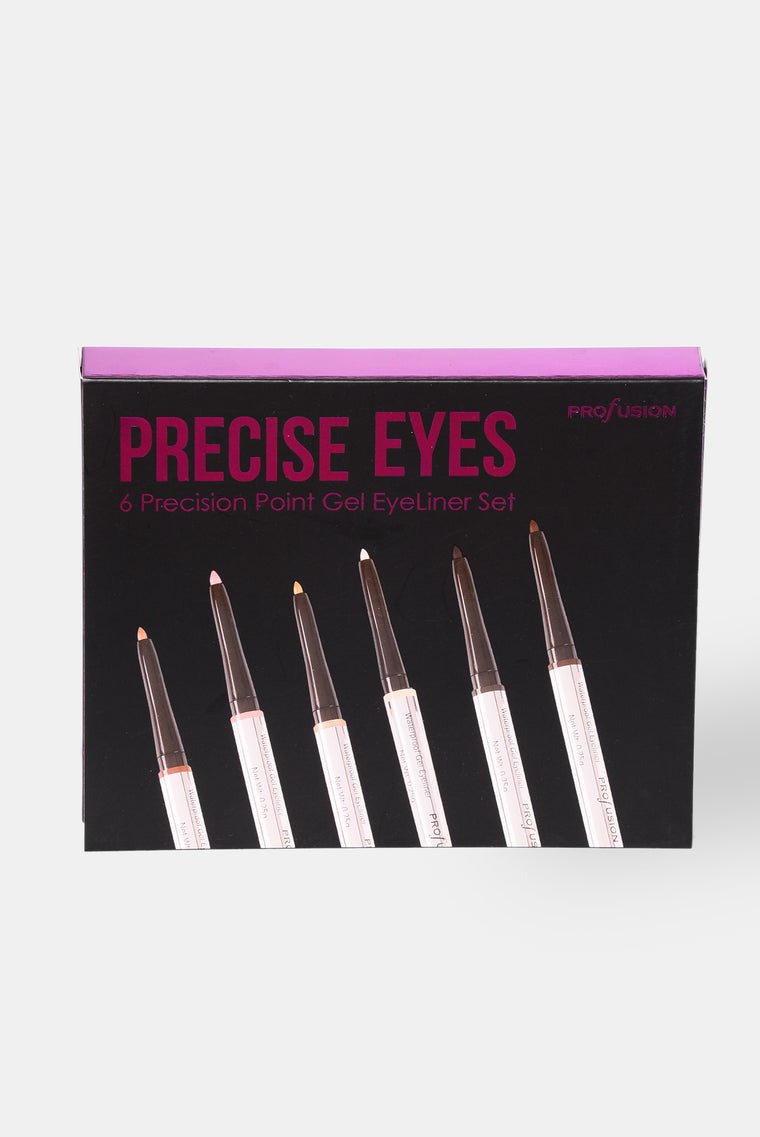 Profusion Cosmetics: Precise Eyes Eyeliner Set - Smokey